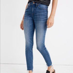"Madewell 9"" Skinny Crop Jeans"